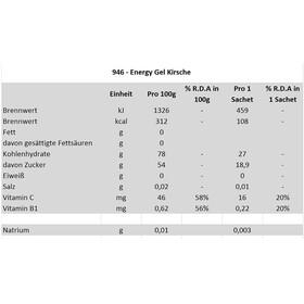 Isostar Energy Gel Energitillskott Körsbär 24 x 35g